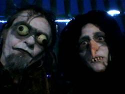 Halloween Goblin Heads