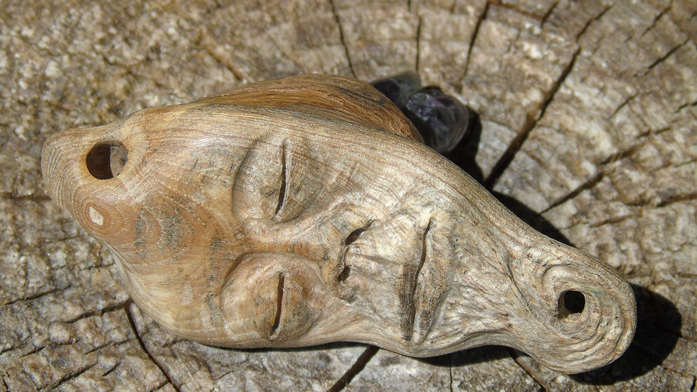 Holme Oak&Amethyst Pendant