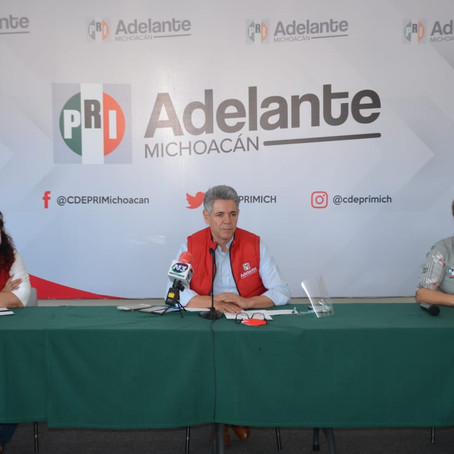 El PRI esta de vuelta y listo para enfrentar el procesos electoral 2021: Jesús Hernández