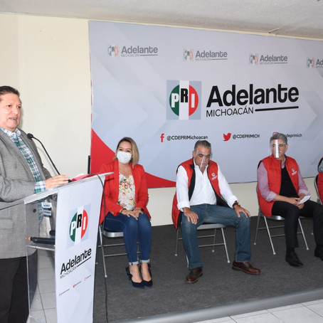 PRI Morelia enfrentará el proceso electoral con jóvenes y experiencia de ex dirigentes