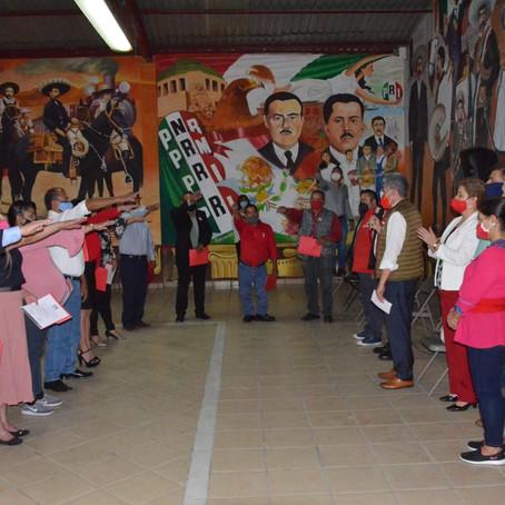 PRI consolida su unidad, van adelante por Tarímbaro