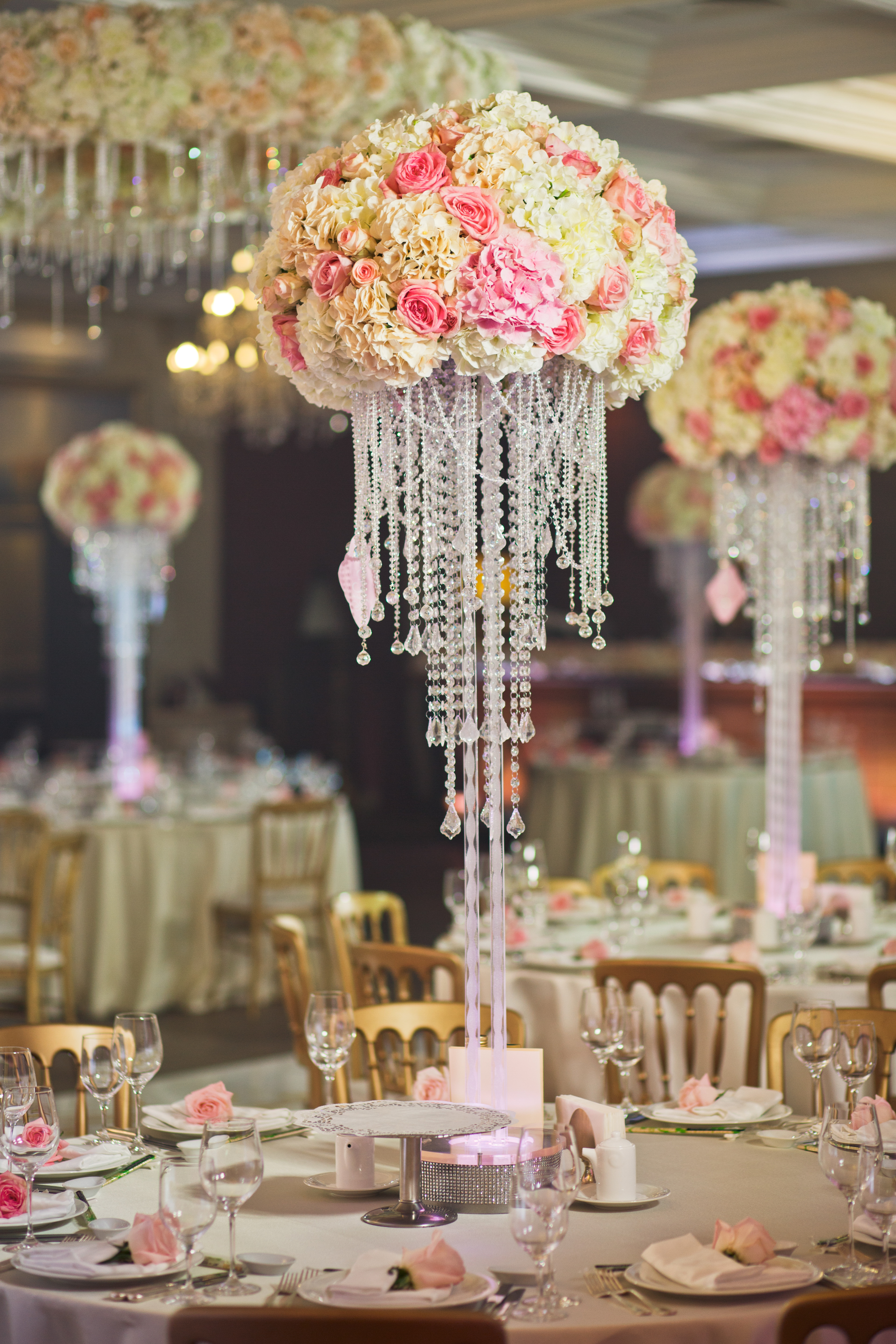 Floral Chic Setting