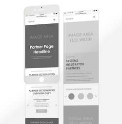 UX-mobile wireframes