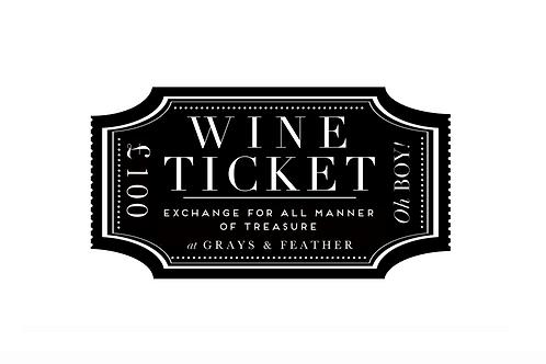 £100 Wine Voucher