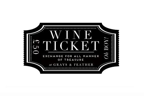 £50 Wine Voucher