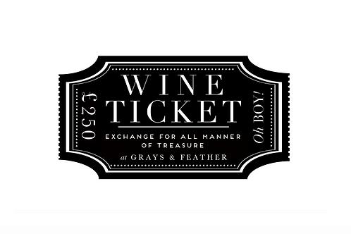 £250 Wine Voucher