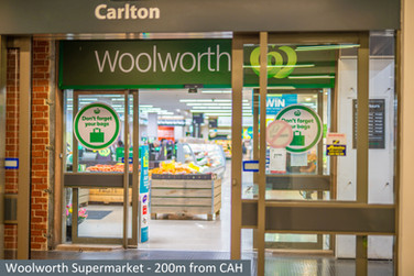 Woolworth Supermarket - 200m from CAH.jp