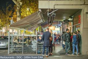 Restaurants - DOC - 100m from CAH.jpg