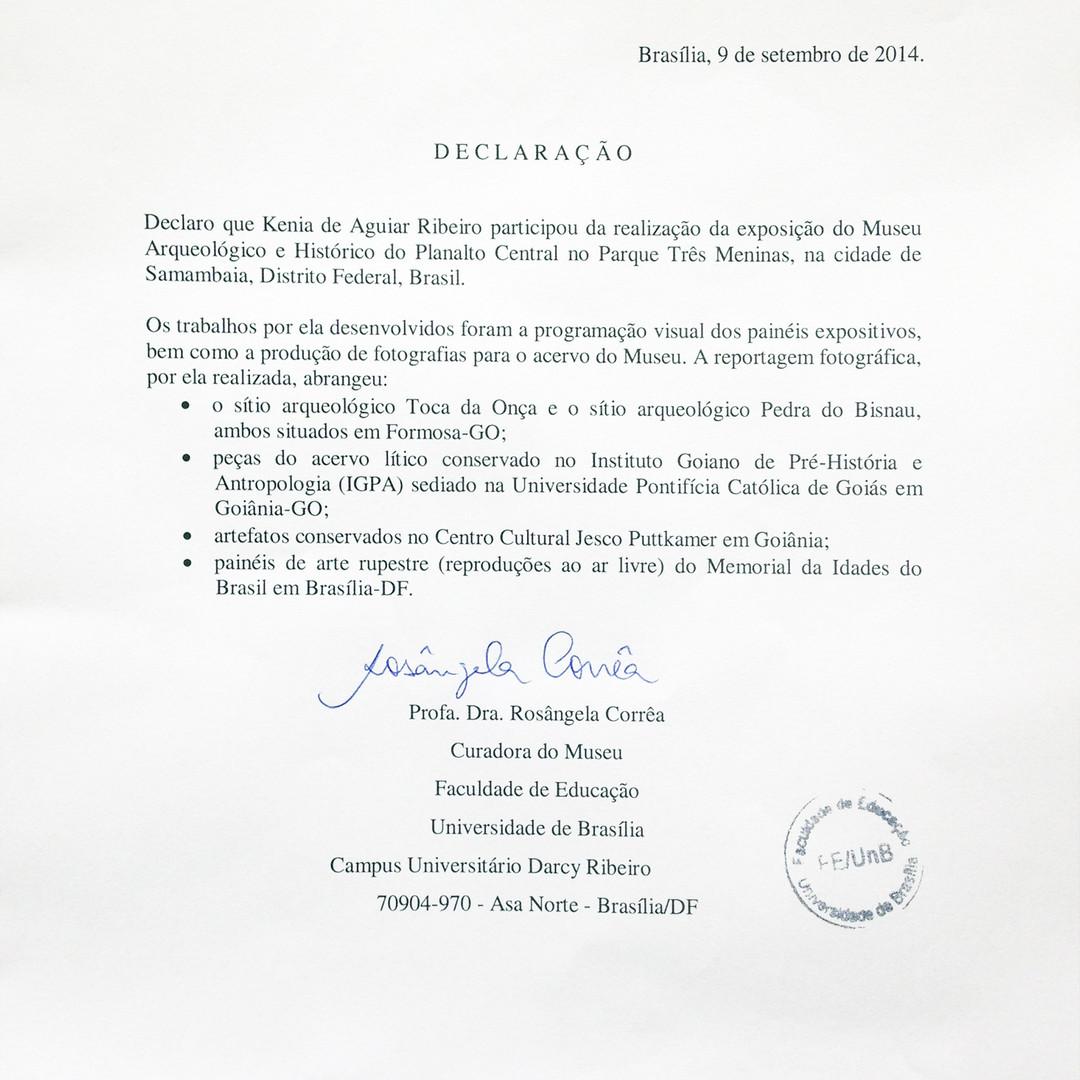 Declaração da UnB