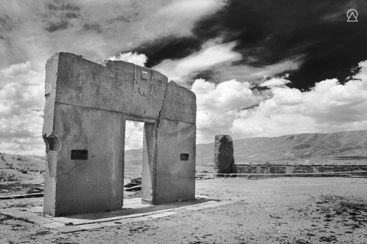 Porte du Soleil à Tiwanaku, Bolivie