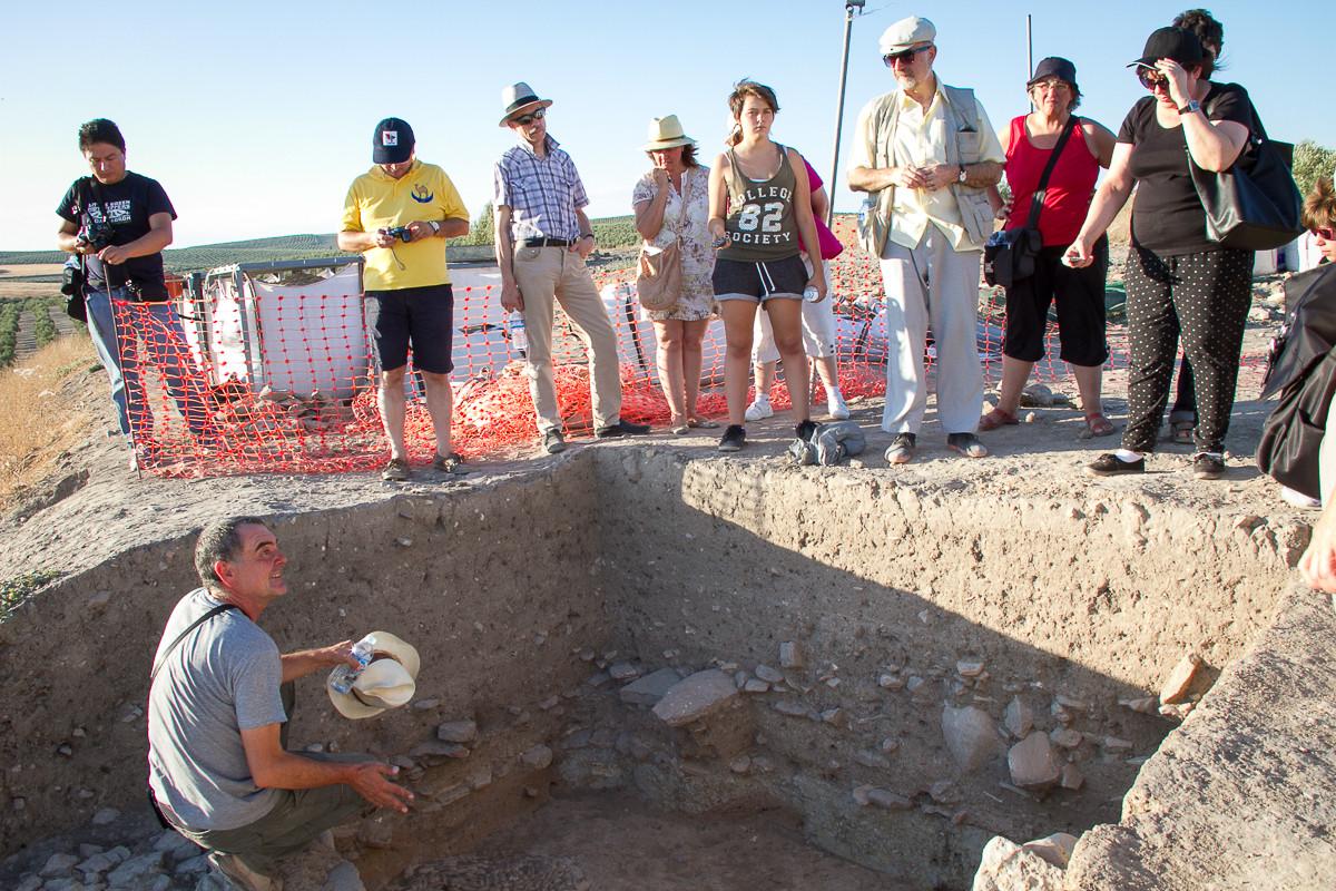 Conjunto arqueológico de Cástulo,Espanha 