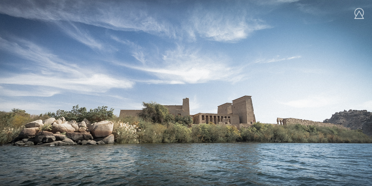 Temple d'Isis à Philæ, Égypte