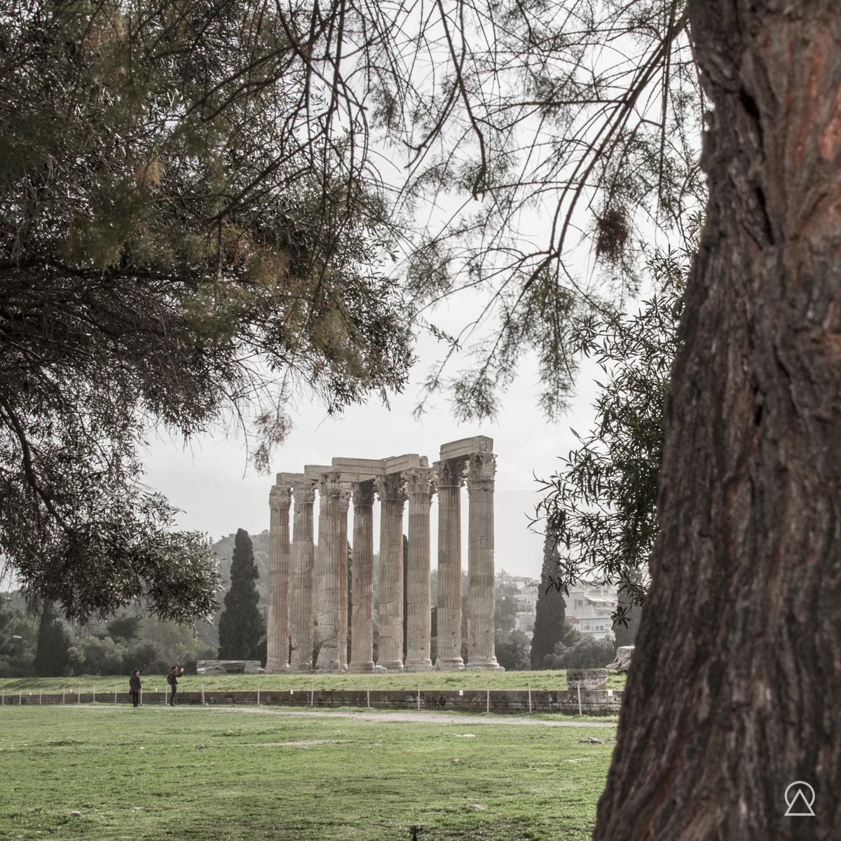 Temple de Zeus, Athénes