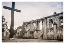 Abbaye de Glastonbury, Angleterre