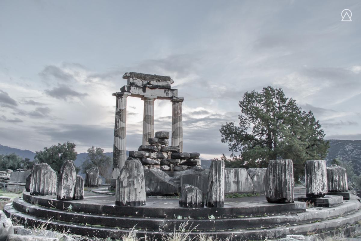 Sanctuaire de Delphes, Grèce
