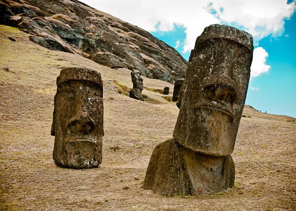 Moaï, Île de Pâques