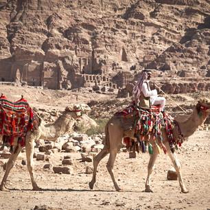 Makam Batu di Wadi Musa
