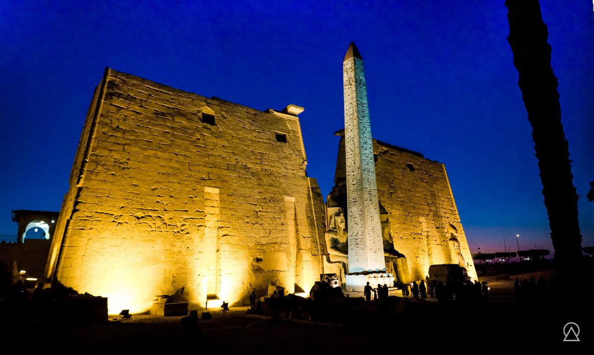 Temple d'Amon à Louxor, Égypte