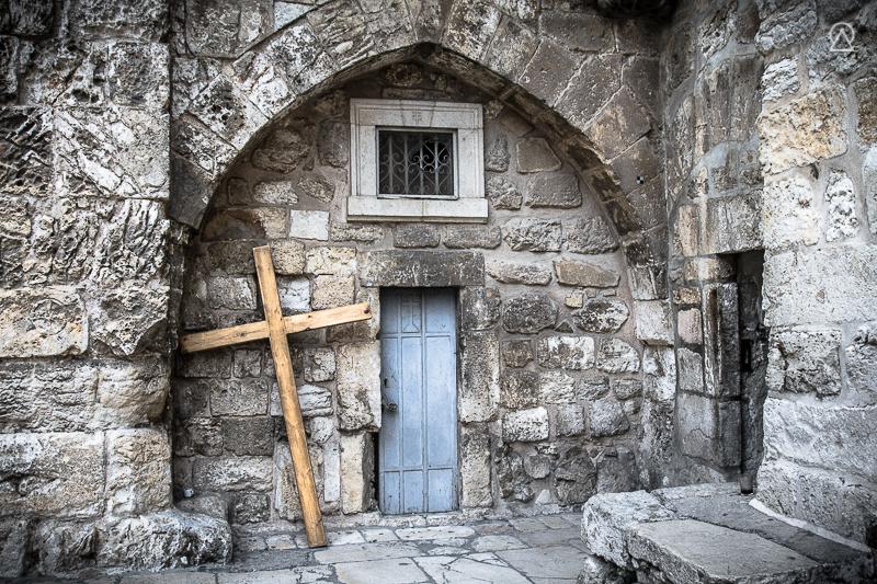 Jesus est crucifié