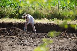 Campanha de escavação