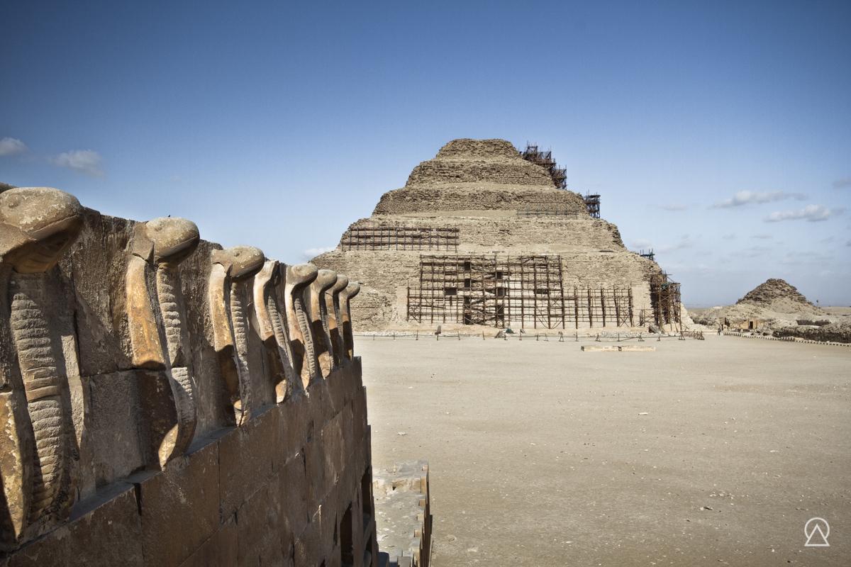 Pyramide de Djéser, Saqqarah, Égypte