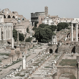 Roma, Italia Arkeologi Sakral | © Kenia de Aguiar Ribeiro