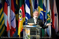Lula, le président du Brésil