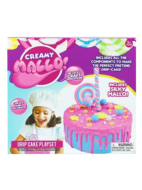 Creamy Mallo drip cake playset