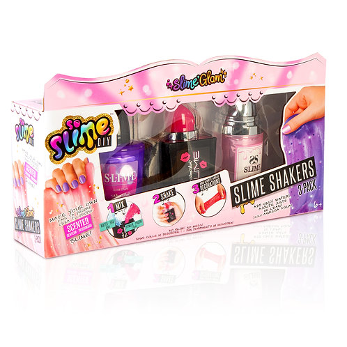 Slime Glam3 pack manicure