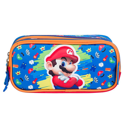 Cartuchera Super Mario Bros