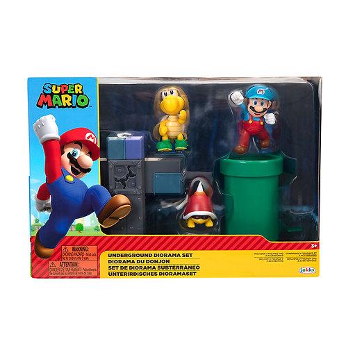 """2.5"""" Super Mario Underground Diorama"""