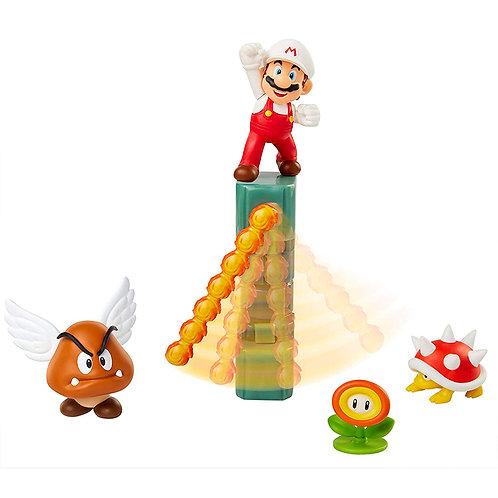 """Nintendo 2.5"""" Lava castle diorama"""