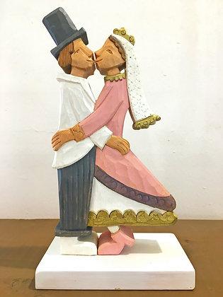 Coppia sposi (Artigianato Camuno)