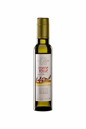 Olio Extravergine d'Oliva Corne Rosse .0.25 l (Azienda Agricola Scraleca)