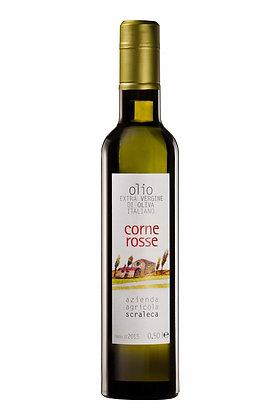 Olio Extravergine d'Oliva Corne Rosse - 0.50 l (Azienda Agricola Scraleca)