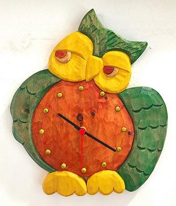 Orologio Gufo (Artigianato Camuno)