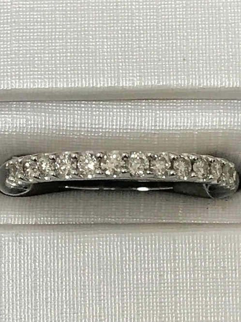 1.00ctw Prong Set Diamonds 10k Gold Wedding Band