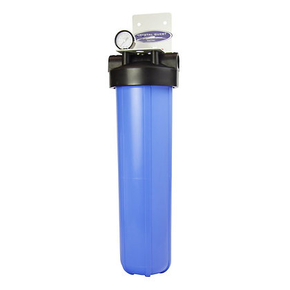 Whole House Compact Water Filter Big Blue Single SMART Series (6-8 GPM)