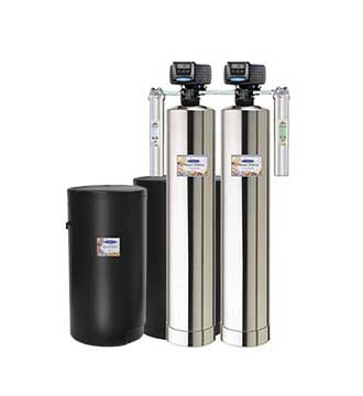Tannin Removal  + Water Softener Whole House Water Filters