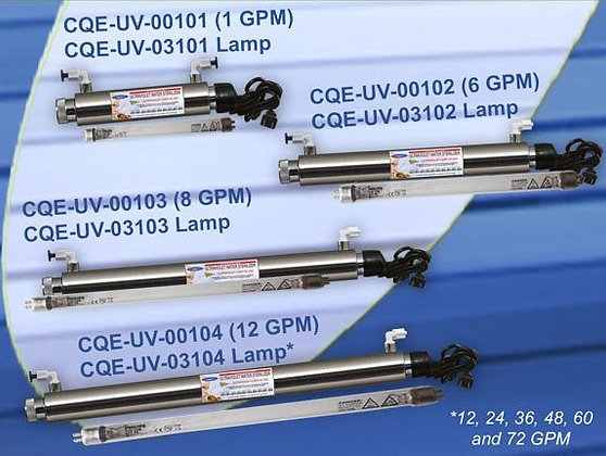 Ultraviolet Water Sterilizer System Replacement Lamp