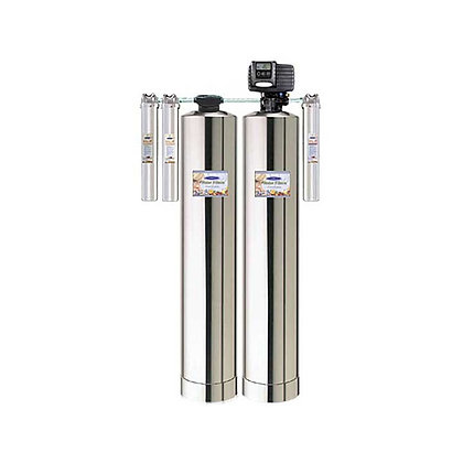EAGLE® 4,000 Full-Size Whole House Water Filter+Alkalizer+Salt-FreeWaterSoftener