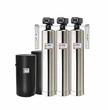 Tannin Removal + SMART + Water Softener Whole House Water Filters