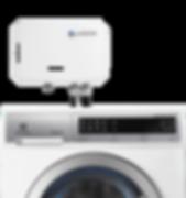 pureWash Connected to Electrolux Washing Machine