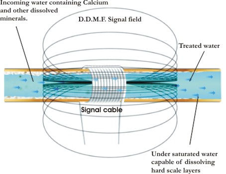 Electronic Descaling Process