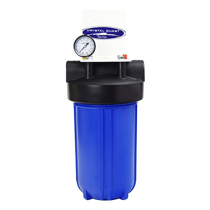 Whole House Compact Water Filter Blue Single SMART Series (3-6 GPM)