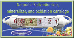 Natural Alkalizer, Ionizer, Mineralizer and Oxidation Cartridge