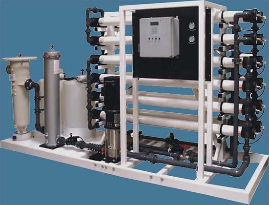 Industrial Reverse Osmosis for Fresh Water - 50,000 Gallons Per Day