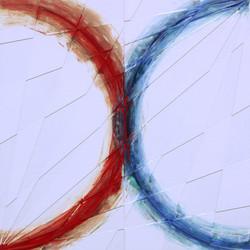 赤と青のX