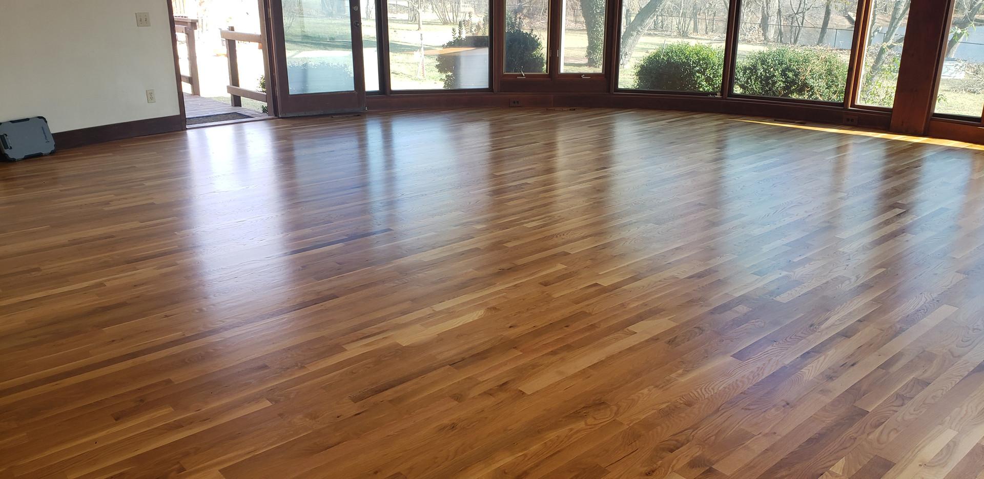 Commercial Wood Floor Install
