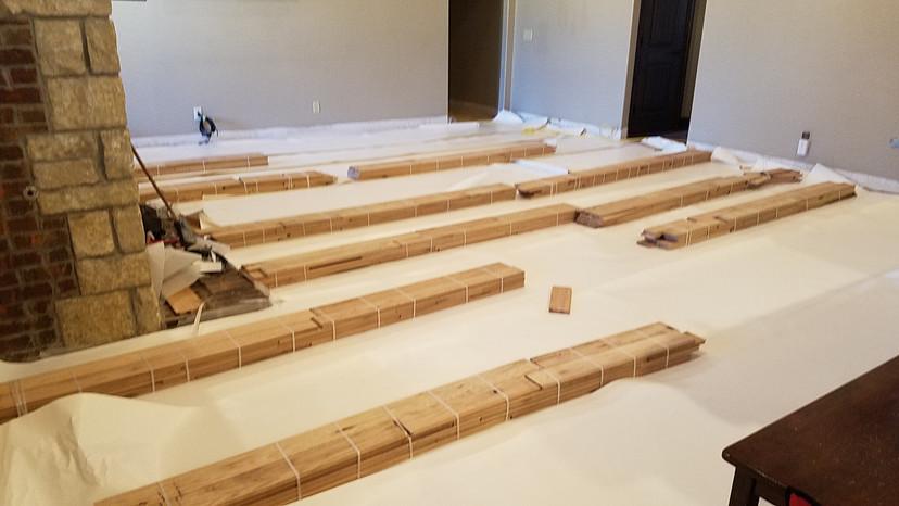 Hardwood Floor Instalation Oklahoma City